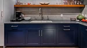 Blue  U0026 Grey Contemporary Kitchen