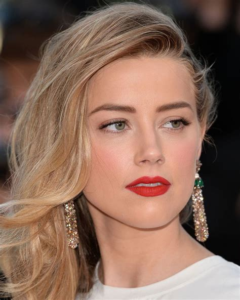 20 maquiagens de Amber Heard para copiar já Amber heard
