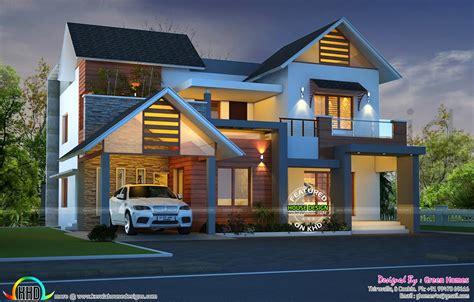 cute night view kerala home design kerala home design