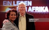 German actor Karlheinz Boehm and his wife Almaz pose ...