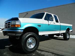Lifted 1995 Ford F250 Supercab Longbed Xlt 4x4 5 Speed