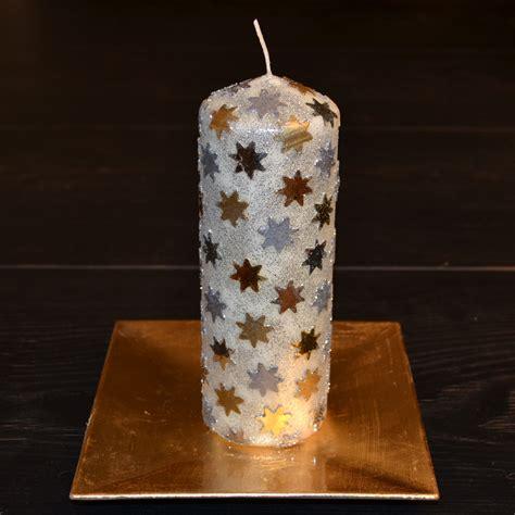 Mit Kerzen Dekorieren by Basteln F 252 R Weihnachten Bastelidee Adventsdeko Kerze
