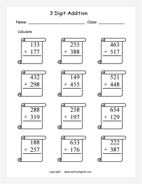 printable grade  math worksheets worksheets