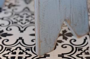 Vinyl Carreau Ciment : coup de c ur pour les tapis vinyl imitation carreaux de ciment de chez fleux d coration et ~ Preciouscoupons.com Idées de Décoration