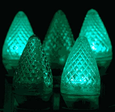twinkle c7 led green replacement christmas lights