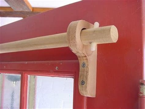 diy curtain rod holder new home ideas