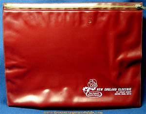 large old new england electric vinyl document pouch with With vinyl document pouch