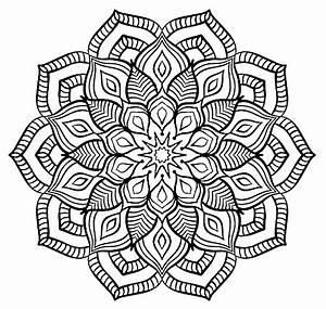 Mandala Big Flower