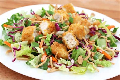 Japanese Pumpkin Salad Recipe applebees asian chicken salad copycat the daring gourmet