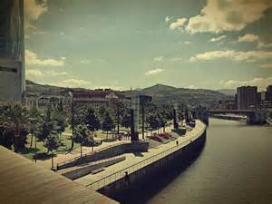 Nervion River Bilbao Spain