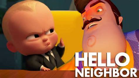 UN JEFE EN PAÑALES Vs HELLO NEIGHBOR! - Minecraft - YouTube