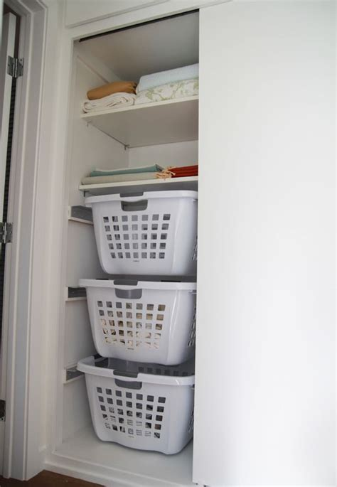 european how to organize a small bedroom diy hanging laundry baskets they be in different