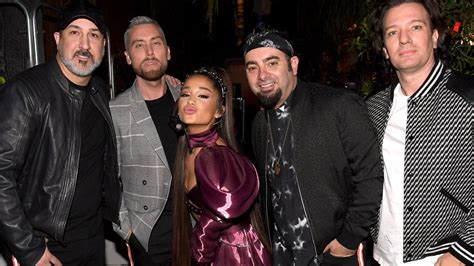 Ariana Grande Brought Out *nsync At Coachella 2019 To