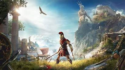 4k Creed Odyssey Wallpapers Games Backgrounds