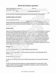 real estate purchase agreement form free templates with With documents for property sale