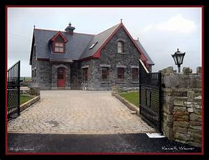 Beautiful, Stone, House, In, Ireland