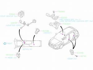 2019 Subaru Crosstrek Console Wiring Harness