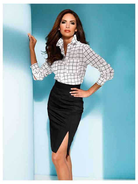 look bureau femme les 25 meilleures idées concernant jupe à taille haute sur