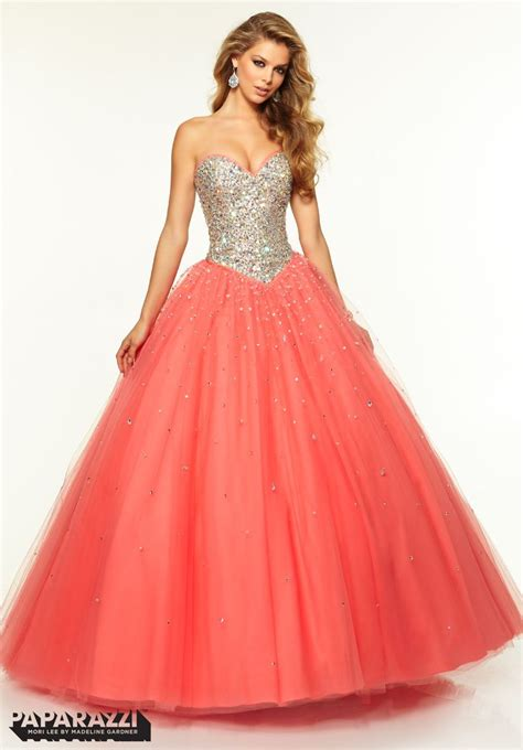 Mermaid Strapless Embroider Coral Prom Outfits u2013 Designers Outfits Collection