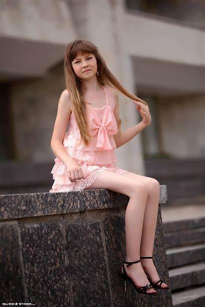 Bella Silver Stars Models Candydoll Pinkdress Ru