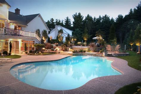 pool für terrasse die besten 25 waschbeton ideen auf