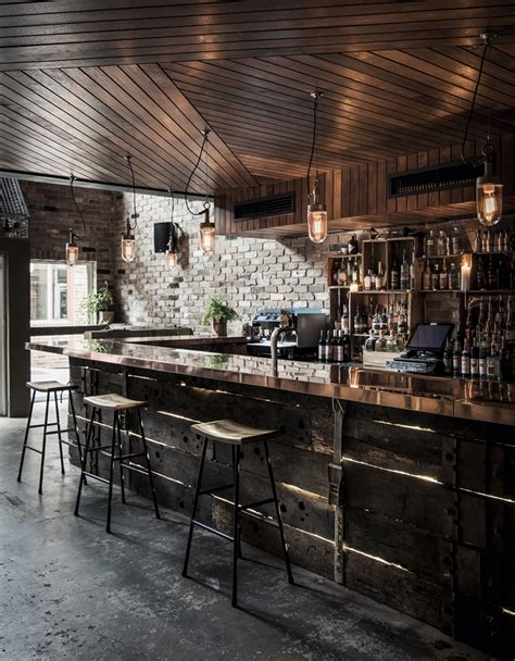 Are Bars Out Of Style by Achieve The Industrial Look Without Concrete Screed This