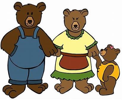 Bears Three Clipart Goldilocks Clip Bear Clipground