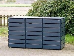 Mülltonnenbox Holz Anthrazit : die besten 17 ideen zu m lltonnenbox auf pinterest m lltonnenh uschen m llboxen und m lltonne ~ Whattoseeinmadrid.com Haus und Dekorationen