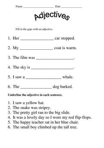 Grade 1 Grammar Worksheets Worksheets For All  Download And Share Worksheets  Free On