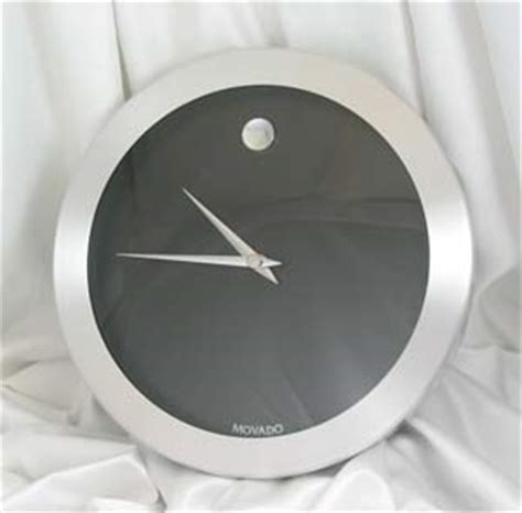 Movado Desk Clock Engraved by The Personal Touch Clocks