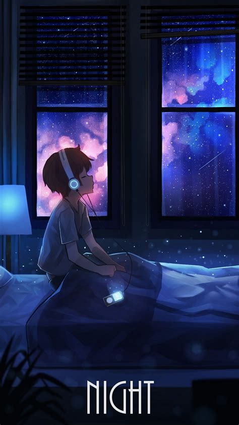 pin by on wallpapers anime galaxy anime