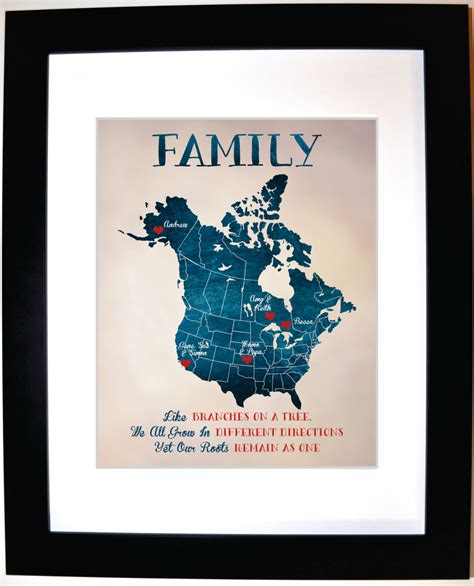 personalized family gift ideas custom present for mom and dad