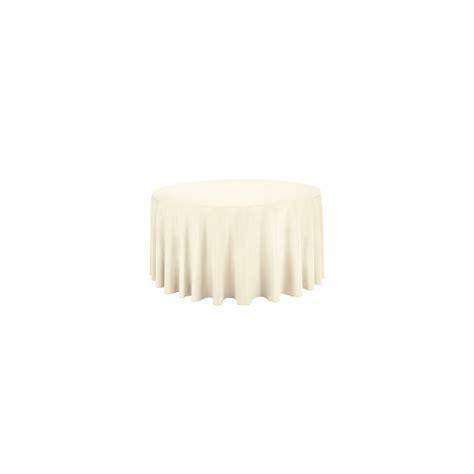 nappe unie ronde 280 cm ivoire vente d 233 cor