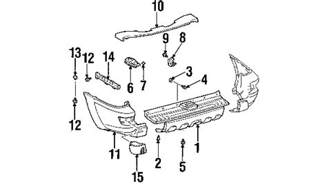 Parts Toyota Cover Bumper Partnumber