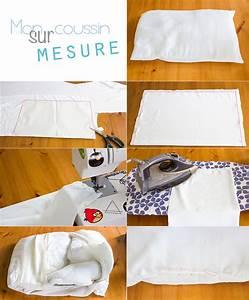 Fabriquer Son Canapé Soi Meme : comment faire sa housse de coussin sur mesure le tuto ~ Melissatoandfro.com Idées de Décoration
