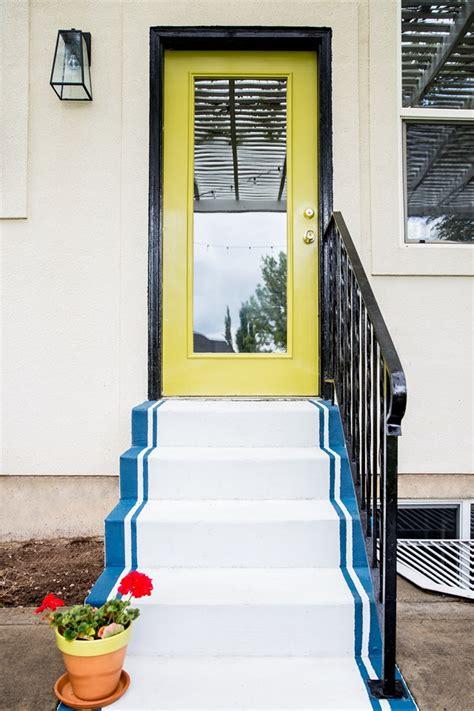 (diy) Painted Concrete Steps  Emily A Clark