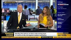 It's time for Jim White's yellow tie and Sky Sports ...