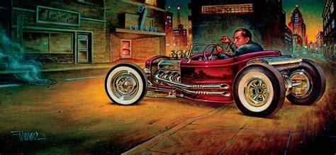 The Hot Rod Landscape Of Artist Keith Weesner