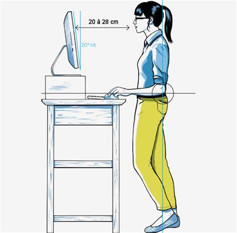 travailler debout bureau travail de bureau faites le debout jobat be