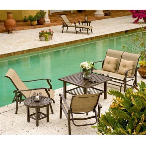 woodard cortland sling patio set wd cortlandsling set3