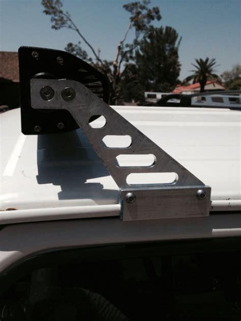 jeep xj light bar mount led lightbar mounts jeep forum