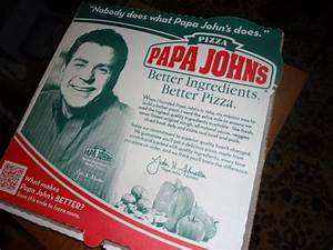 Pizza box - Picture of Papa John's, Warwick - TripAdvisor