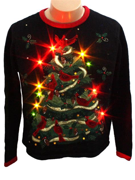 light up ugly sweater womens light up ugly christmas sweater heirloom