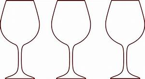 Wine Glass Silhouettes Clip Art at Clker.com - vector clip ...