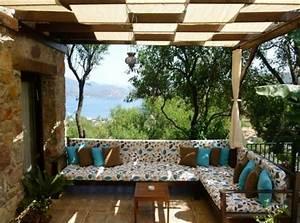 Sonnenschutz überdachte Terrasse : berdachte terrasse 50 top ideen f r terrassen berdachung berdachte terrassen berdenken ~ Sanjose-hotels-ca.com Haus und Dekorationen