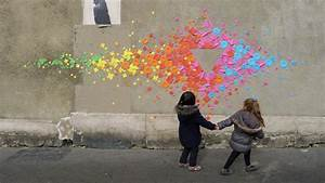 This Woman Creates the Most Colorful Origami Street Art