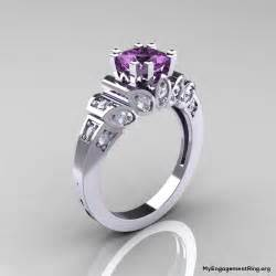 engagement rings with purple diamonds engagement wedding rings