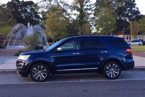 ford explorer platinum real world review video