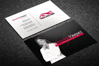 real estate business cards business card templates