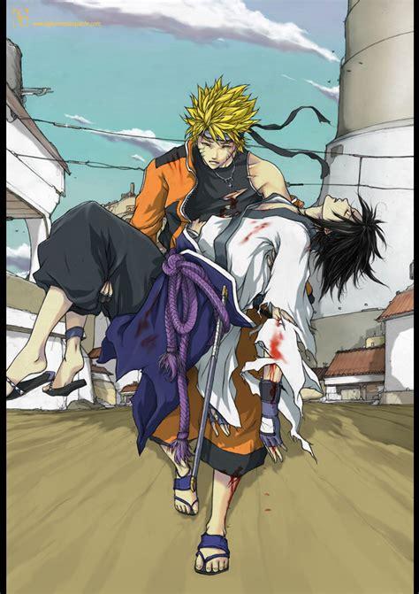 Naruto And Sasuke's Future  Daily Anime Art